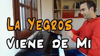Viene de Mi Piano Cover - La Yegros