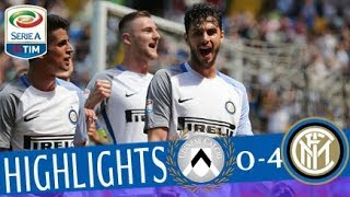Udinese - Inter 0-4 - Highlights - Giornata 36 - Serie A TIM 2017/18