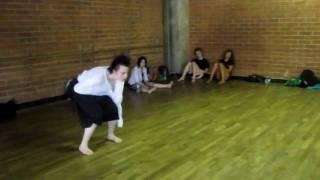 """DanceBuzz.Ru - Erica Sobol """"Dream World"""" by Robin Thicke"""