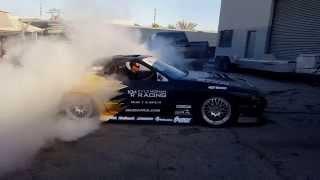 Turbo RX-7 burnout big smoke FC3S Drift Car Mazda Rotary
