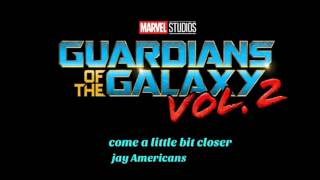 Guardians of the galaxy .Vol 2 Rocket and yondu scene come a little closer - jay americans