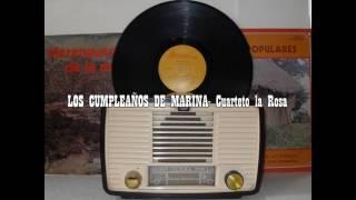 LOS CUMPLEAÑOS DE MARINA Cuarteto la Rosa(Merengue)