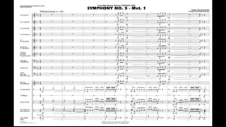 Symphony No. 5 - Mvt. 1 by Beethoven/arr. Richard L. Saucedo