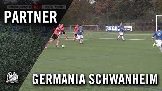 Germania Schwanheim II - SG DJK Hattersheim (Kreisliga A, Kreis Maintaunus) - Spielszenen