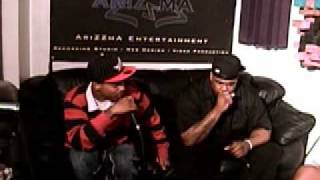 Bynoe & Chinx Drugz of the Riot Squad Freestyle on PMS Radio