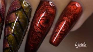 Another way of using cat eye gel polish