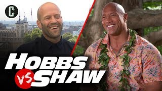 Hobbs & Shaw Cast Plays Hobbs vs. Shaw