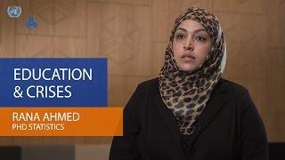 Rana Ahmed – Education & Crises
