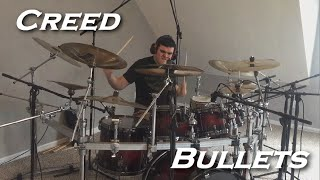 Creed - Bullets (Drum Cover by JD)