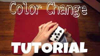 TUTORIAL COLOR CHANGE | SHAPESHIFTER | Trucco di Magia Spiegazione [HD]