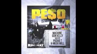 MGK - Pe$o ft. Pusha T & Meek Mill (Instrumental w/Hook) - RunawayBeatz