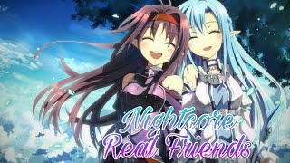 Nightcore - Real Friends