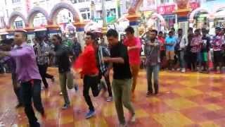 UNITAR flash mob at brickfields