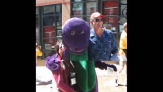 Barney Free Hugs (St.Louis)