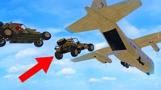 LAND IN THE PLANE CHALLENGE! (GTA 5 DLC)