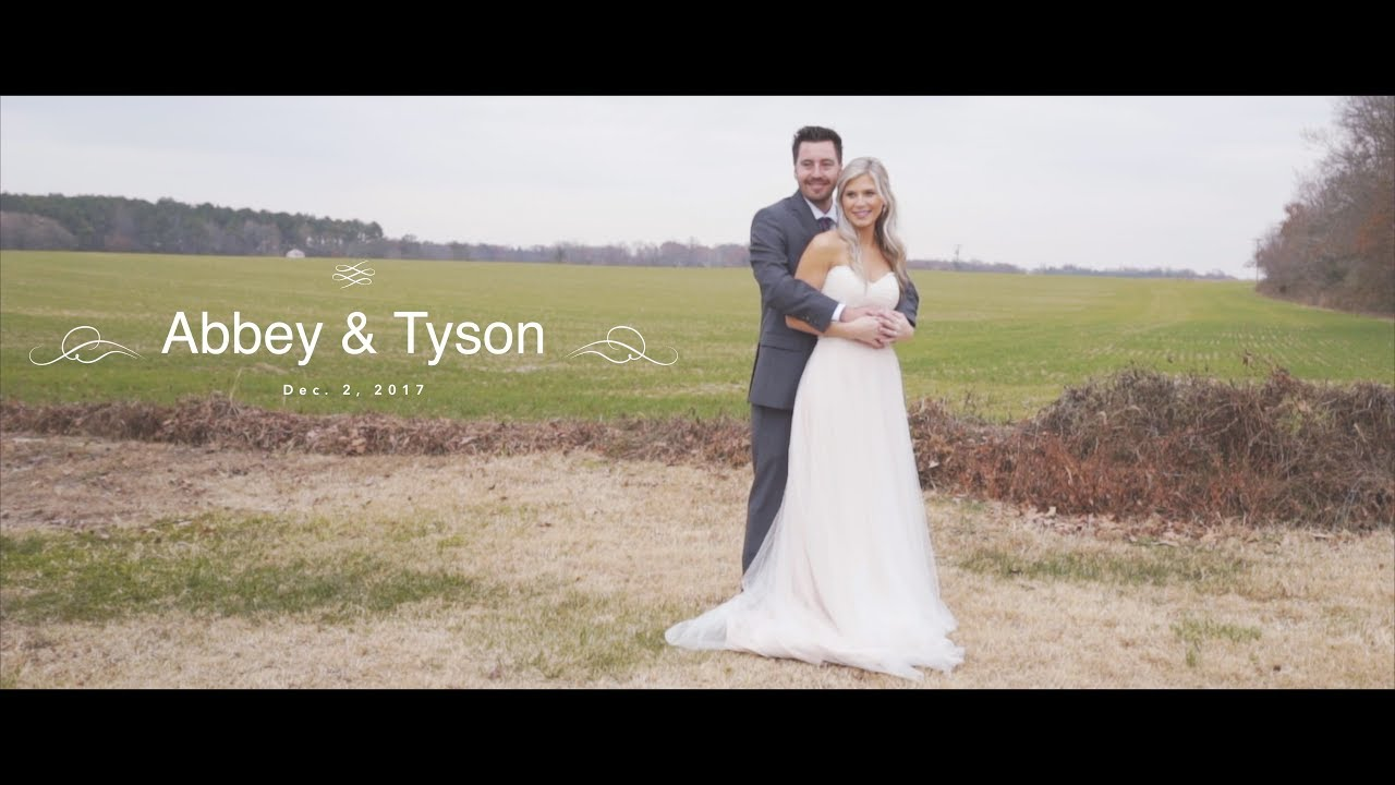 Tyson + Abbey Wedding Video February 2017