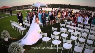 Entrada Noiva Adriele | A Thousand Years  | Cia. Sinfônica