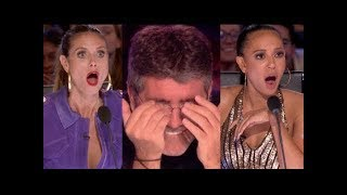 The Best Top 6 AMAZING Auditions - America's Got Talent 2017 - MUST WATCH! width=