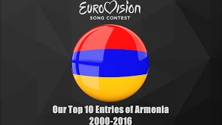 Eurovision 2000-2016: Our Top 10 of Armenia