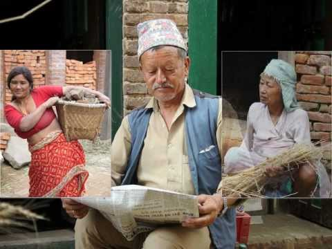 Nepal Gesichter Asiens