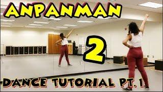 BTS (방탄소년단) - ANPANMAN DANCE TUTORIAL PART 2 width=
