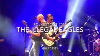 The Illegal Eagles in Folkestone