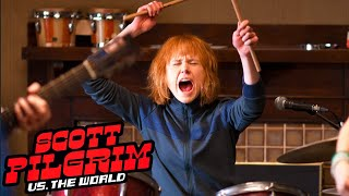 Scott Pilgrim vs. the World - Behind the Scenes - Learning To Play Instruments