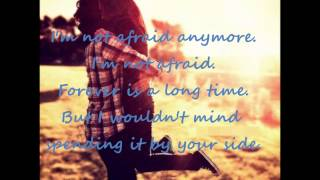 He Is We - I Wouldn't Mind (lyrics)