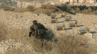 Metal Gear Solid 5 : The Phantom Pain - Hunt animals with the Capture Cage