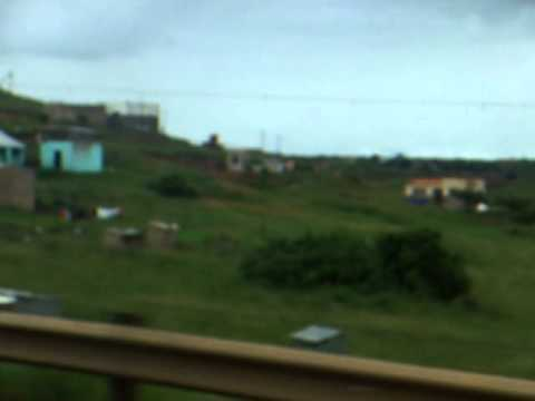 Durban to Mahlanya Bus Part 2 – South Africa to Swaziland – January 2011