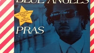 """BLUE ANGELS CD SINGLE """" PRAS """" FEATURES THE BLACK APPLE REMIX OFF GHETTO SUPASTAR REVIEW COLLECTION"""