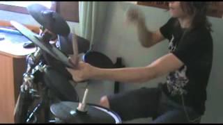 Of Mice & Men - OG Loko drum cover (Steven Slate drums 4 test)