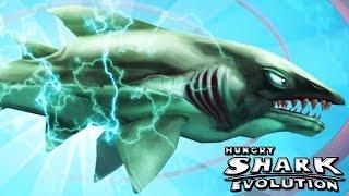 Hungry Shark Evolution - New Shark - Electro Baby