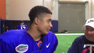 Florida cornerback Quincy Wilson on the rivalry with Florida State