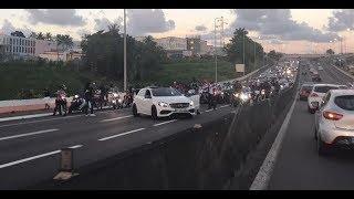 Après Sofiane, Ninho bloque l'autoroute !