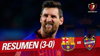 Resumen de FC Barcelona vs Levante UD (3-0)