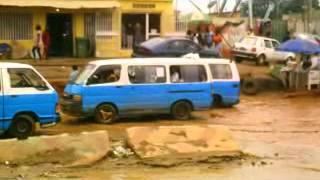 Chuvas pior inimigo da Cidade de Luanda Angola zona do Embondeiro
