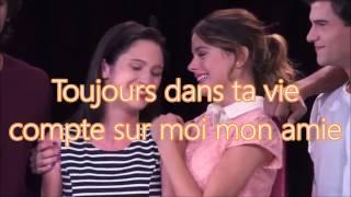 Violetta3 - Violetta, Francesca et Camila - A mi lado paroles en Français