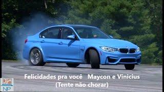Felicidades pra você   Maycon e Vinicius (Tente não chorar)