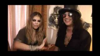 Behind The Scenes of Beautiful Dangerous - Slash feat. Fergie