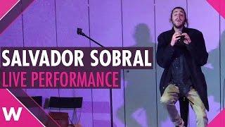 """Salvador Sobral - """"Amar Pelos Dois"""" - Live performance"""