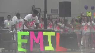 Blacklight Rally at High School (Dr. Dre - Still D.R.E. ft. Snoop Dogg)(Full Video)