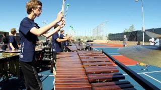 "Pulse Percussion 2014 front ensemble ""Moonlight Sonata"" @ SCPA prelims"