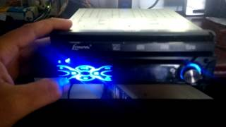 (Problema) dvd retrátil Lenoxx ad-1800