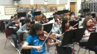 Logan Smashes Violin