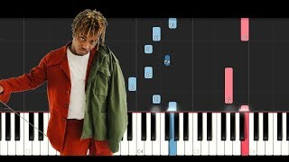 Juice Wrld - All Girls Are The Same (Piano Tutorial)