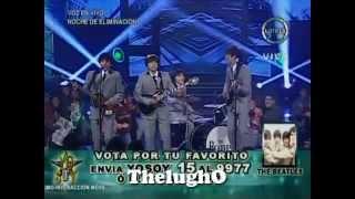 "Yo Soy 30-07-13 LOS BEATLES ""A Hard Day's Night"" Sorprenden al Jurado [Yo Soy 2013]"