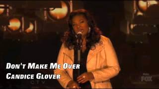 Don't Make Me Over - Candice Glover (Live Audio)