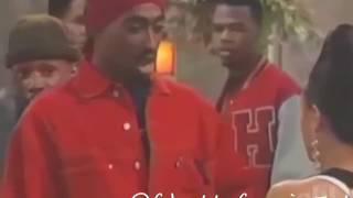 Tupac Acting With Jada Pinkett Smith 💑