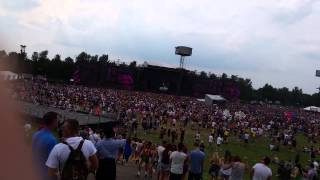 Calvin Harris thinking about you live at edc uk